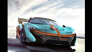 Mclaren P1 Gtr Design Concept revealed, event at Pebble Beach on August 16