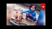 5-годишно момиченце намерила кучето си на пазара, където се продава кучешко месо.
