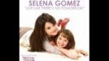 Selena Gomez-live Like There's Tomorrow