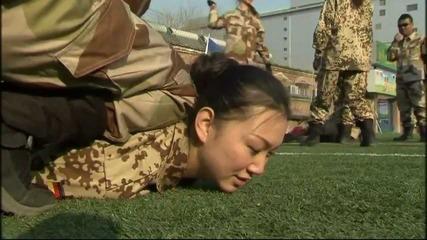 Как се калява стоманата жени в армията