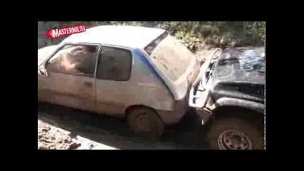 Peugeot 205 -- offroad тест