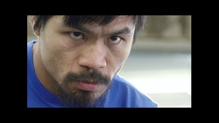 Manny Pacquiao training for Marquez