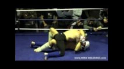 Георги Георгиев срещу Благомир Сапунджиев - 96 кг (аматьорското Мма състезание)