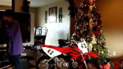 Santi's Motorcross Christmas