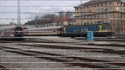 Част от локомотивите и мотрисите на Бдж