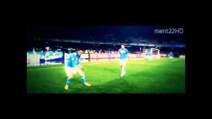 Edinson Cavani | The Divine Executioner | 2011/2012 Goals & Skills Hd