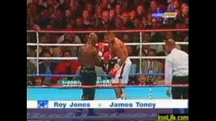 Roy Jones vs. Floyd Mayweather