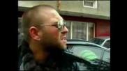 Мутра с крадена кола се обяснява на полицаи