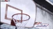 Kuroko No Basket S2 - Aomine shows Kuroko how he shoots