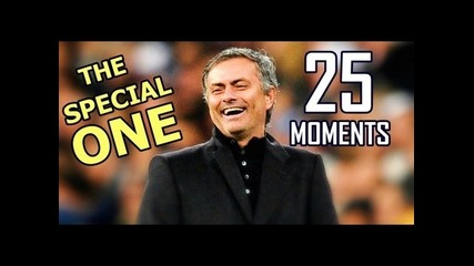 Jose Mourinho - 25 Funny Moments