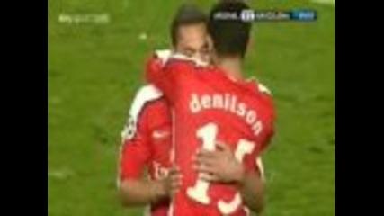 Arsenal V Barcelona 2-2 Champions League 2010