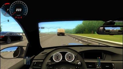 City car driving 1.3 Bmw M5 E96 (bg Video)