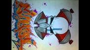 Blackbook Sketches style graffiti sur papier
