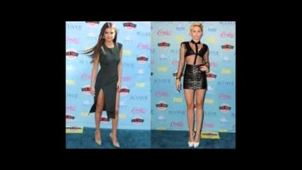 Miley Cyrus vs Selena Gomez 2014