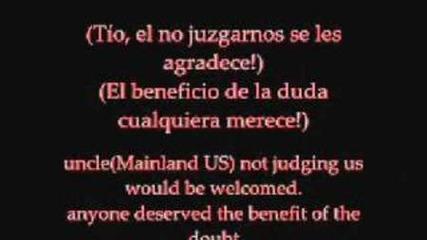 Don omar - Los Bandoleros with lyrics