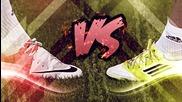 Nike Mercurial Vapor 8 vs Adidas F50 Adizero micoach - Test