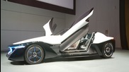 2014 Aerodynamic, stealth-jet-inspired Nissan Bladeglider electric car concept