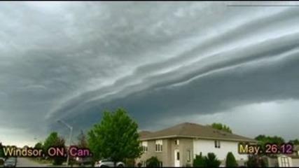 Страховита буря -канада