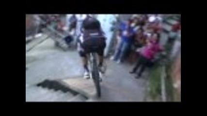Mtb спускане на състезанието в Бразилия !!