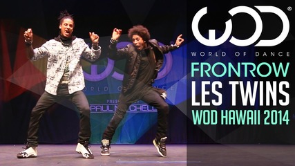 Les Twins | Frontrow | World of Dance 2014