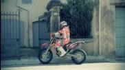 Johnny Aubert preparing to race - The Road to Dakar