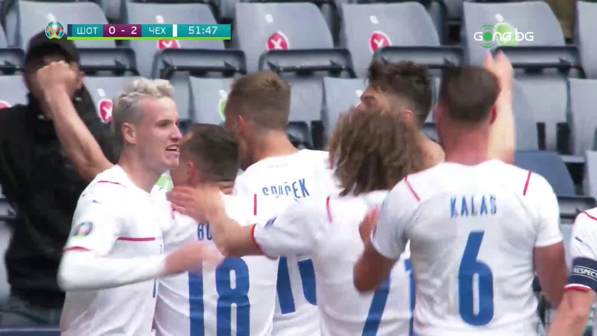 Феноменално! Това ли е голът на UEFA EURO 2020?