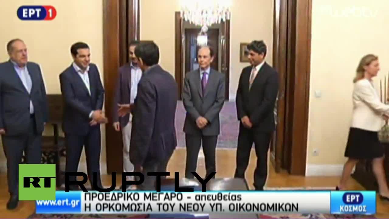 Greece: New FinMin Euclid Tsakalotos sworn in after Varoufakis resigns