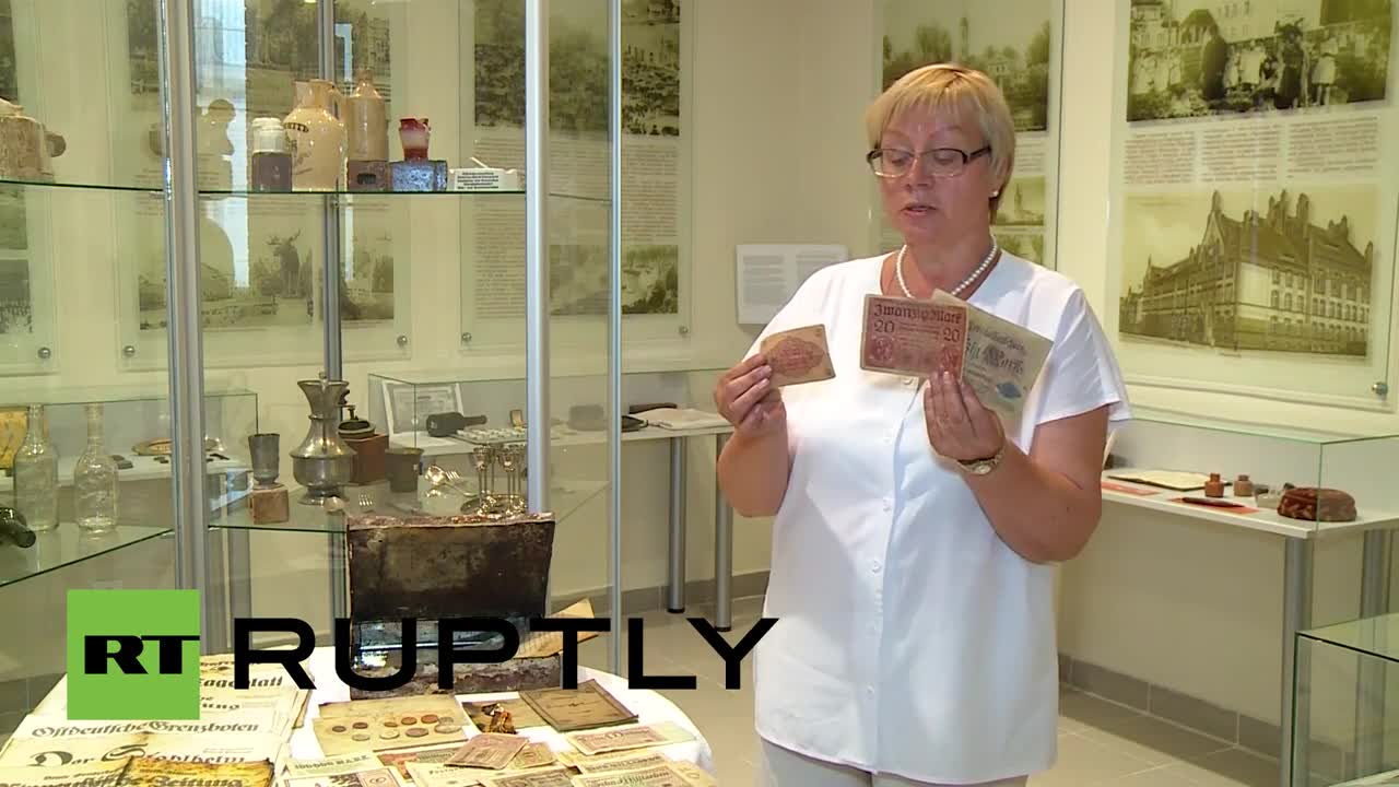 Милиарди немски марки от Ваймарската република открити в гробове в Калининград