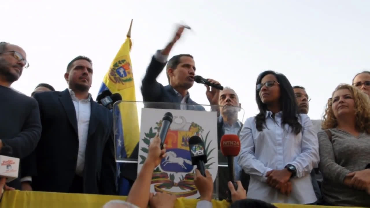 Venezuela: Guaido calls on supporters to join 'Operation Freedom' protests
