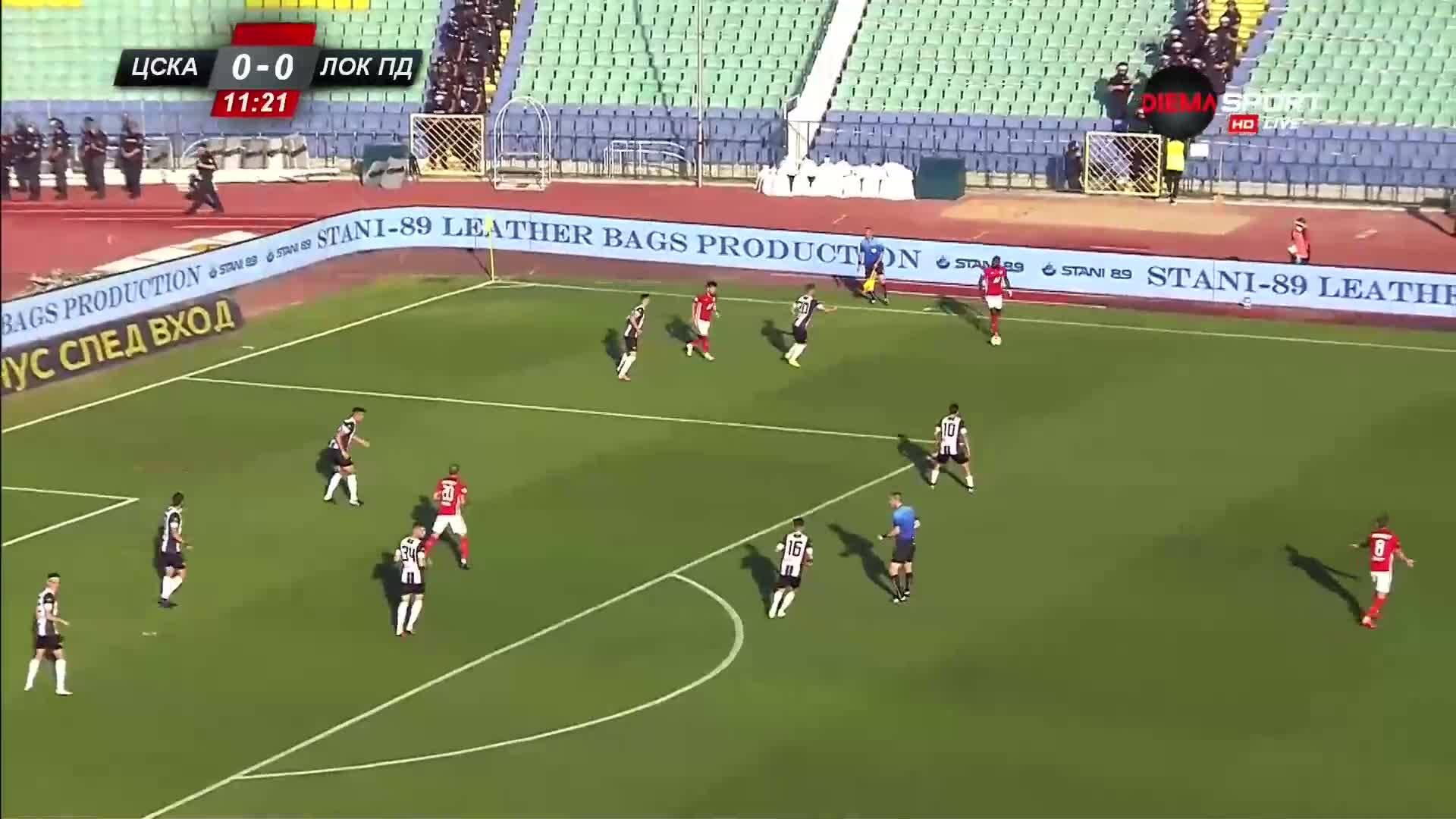 ЦСКА - Локомотив Пловдив 0:0 /първо полувреме/