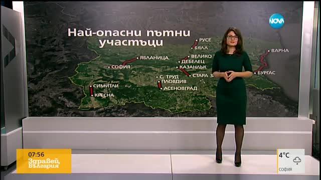Кои са най-опасните пътища в България?