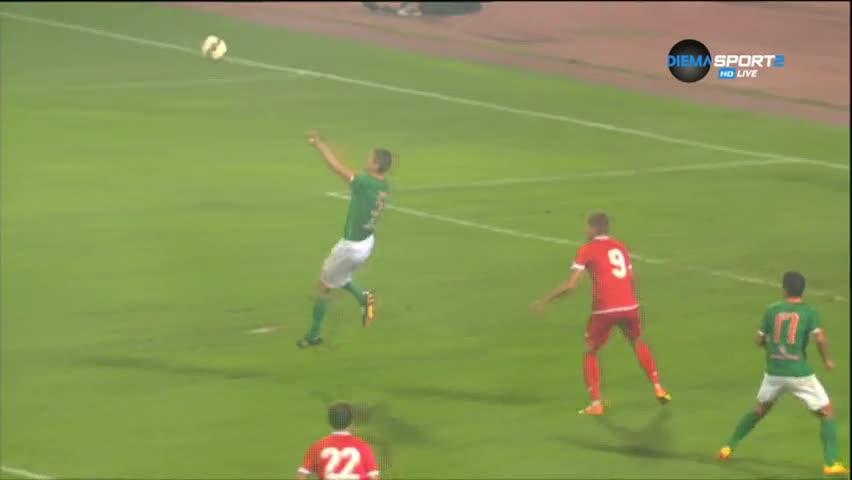 Самир Аясс след победата с 3:1 над Нефтохимик