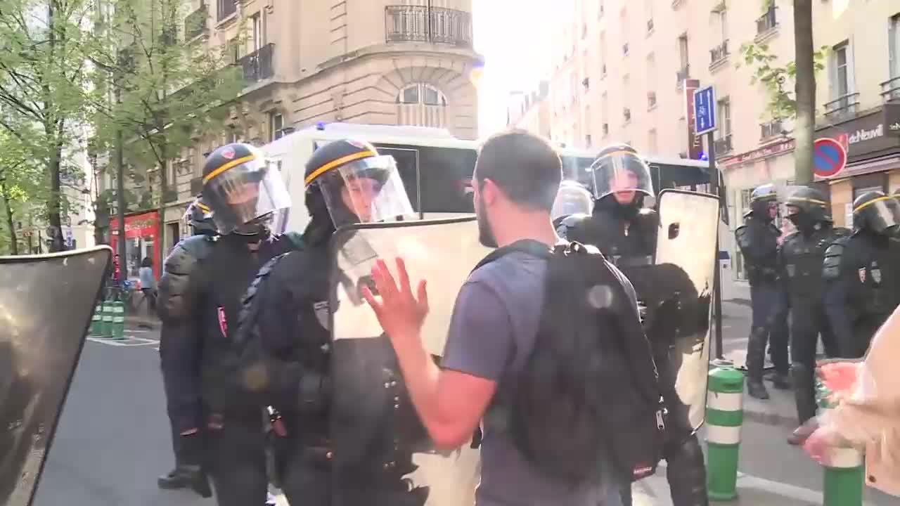 France: Several arrests made at demonstration against Macron\'s reforms