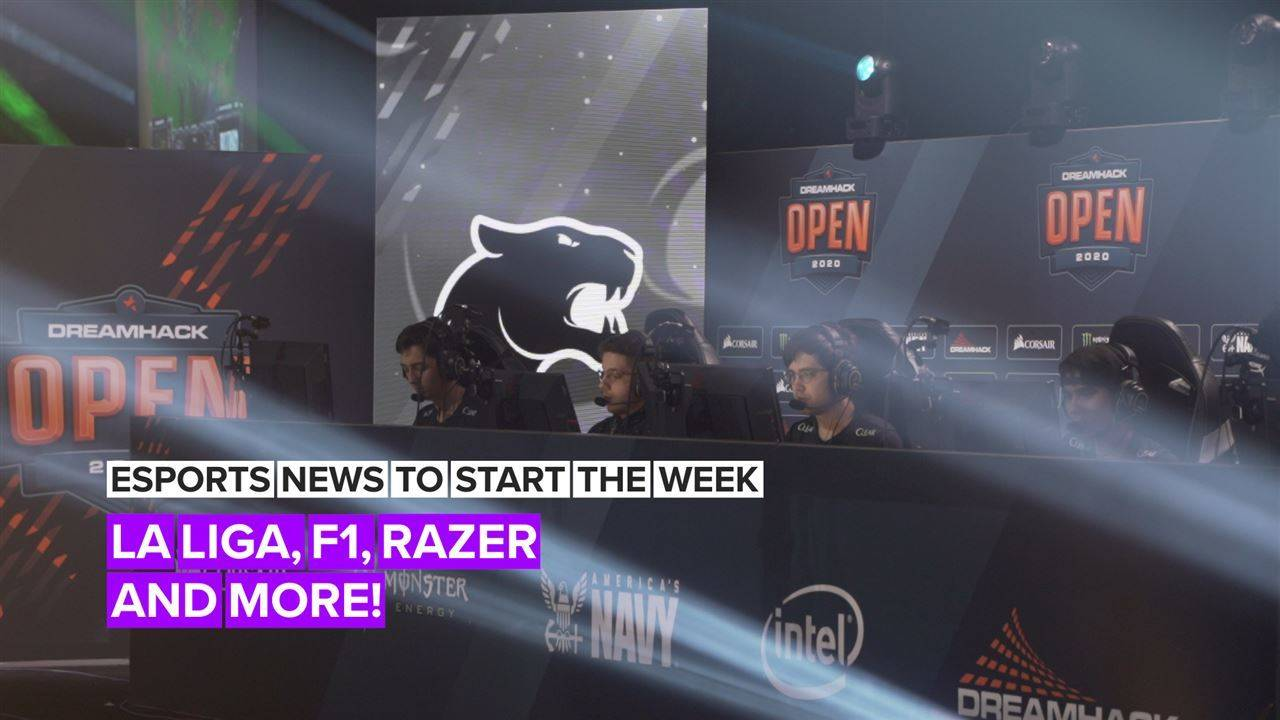 Esports news to start the week: La Liga, F1, Razer and more!
