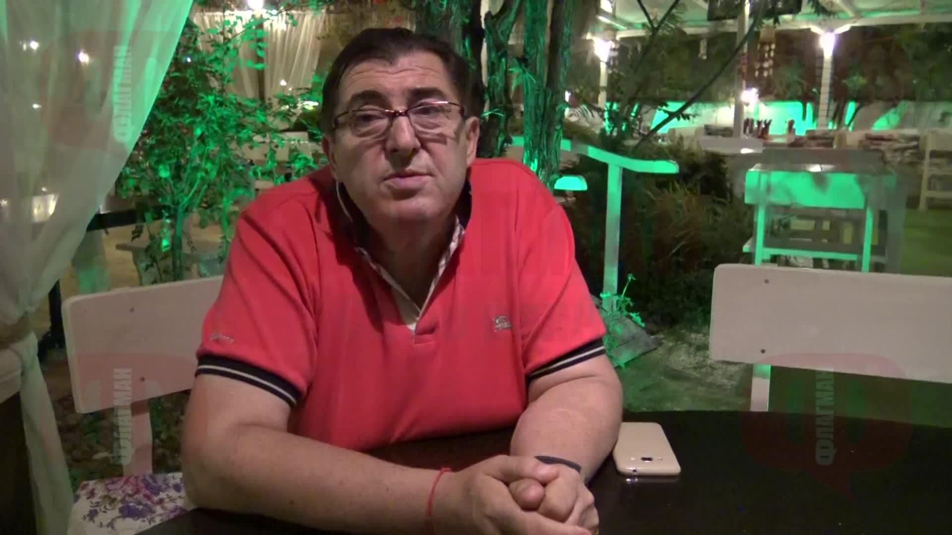 Митьо Пищова на РД-то си в Равда