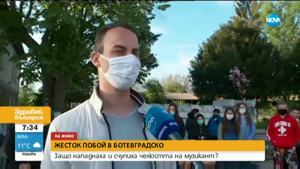 Пребиха жестоко музикант в Ботевградско (ВИДЕО)