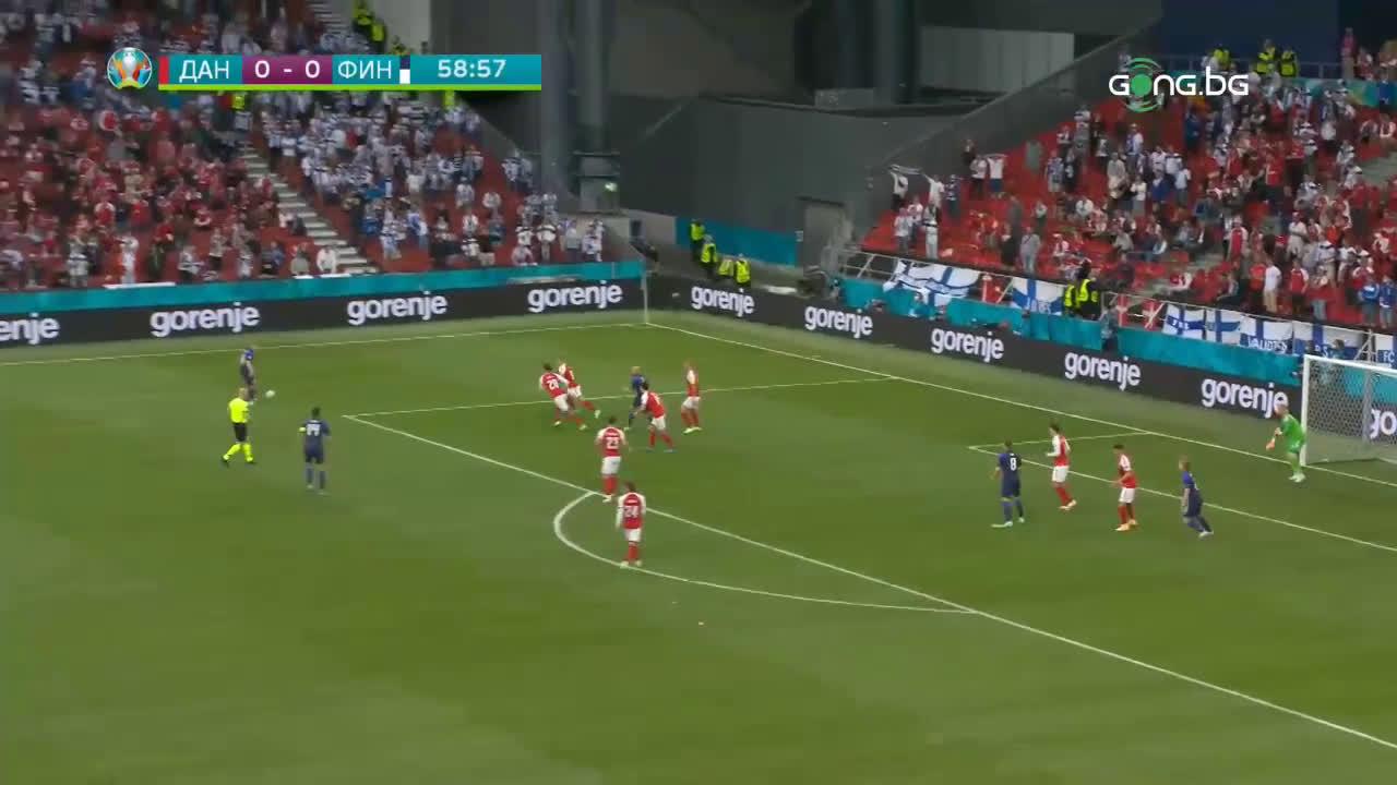 Дания - Финландия 0:1 /репортаж/