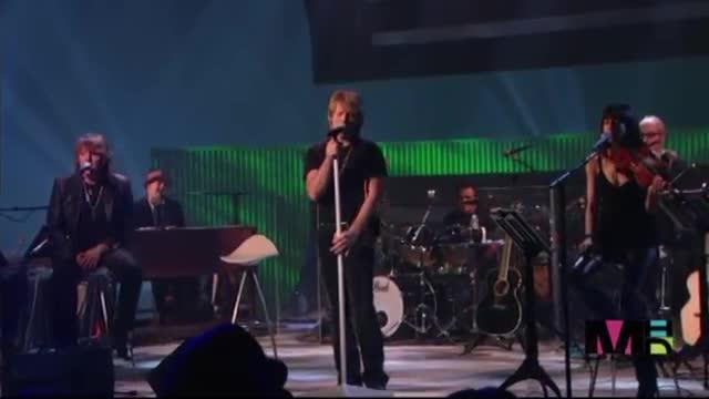 Bon Jovi - Hallelujah live /превод/