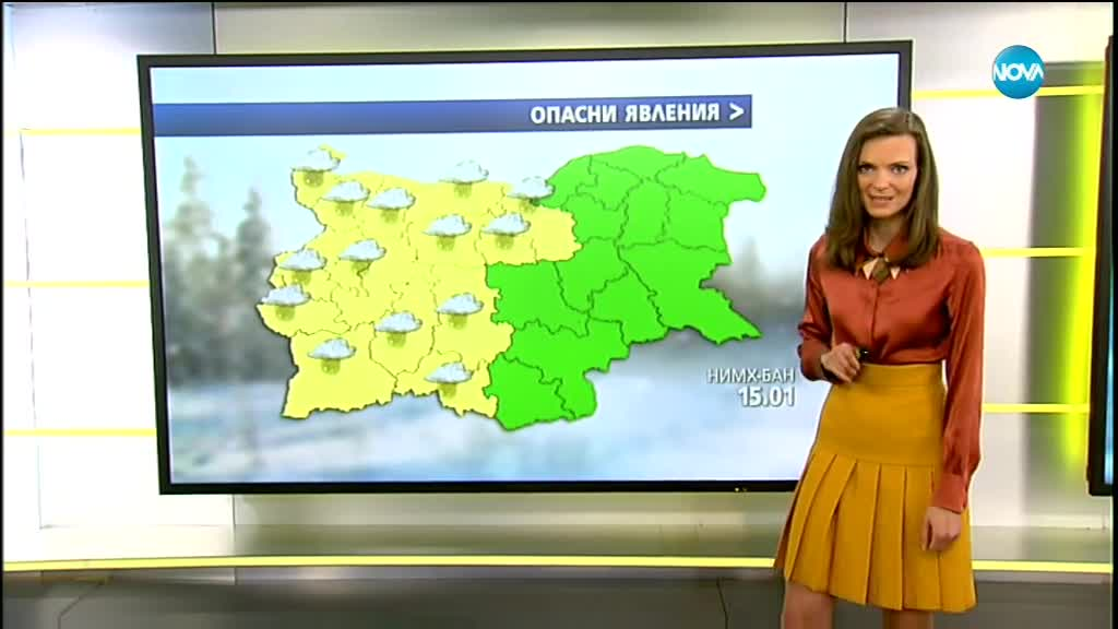 Първата прогноза за времето с Нора Шопова