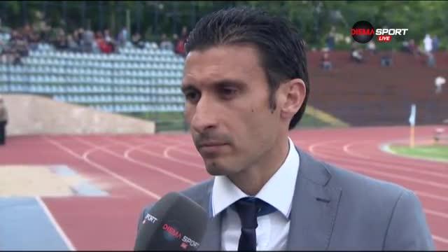 Светльо Петров: Имаме амбиции за Висшата лига, но първо нека останем в Б група