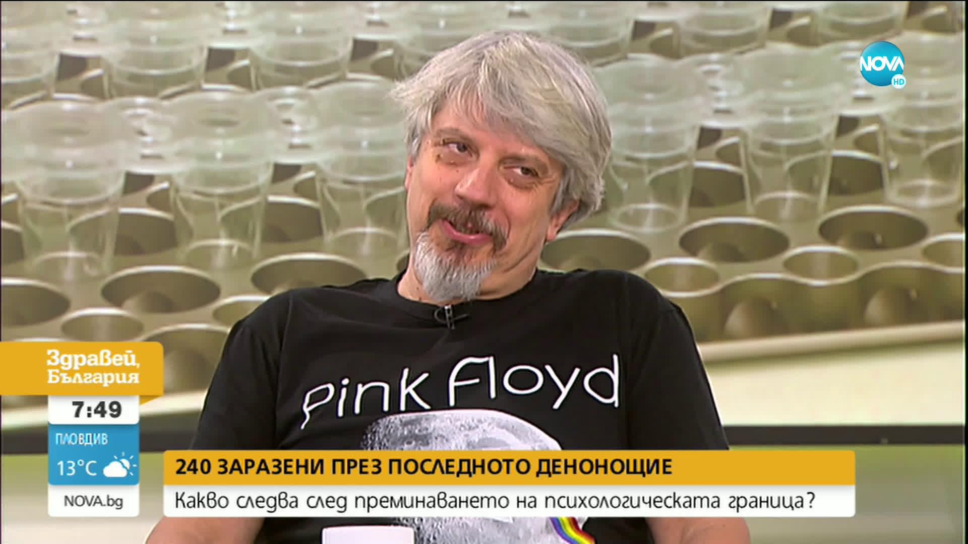 Проф. Николай Витанов: Потенциално заразените с COVID-19 у нас са 50 000