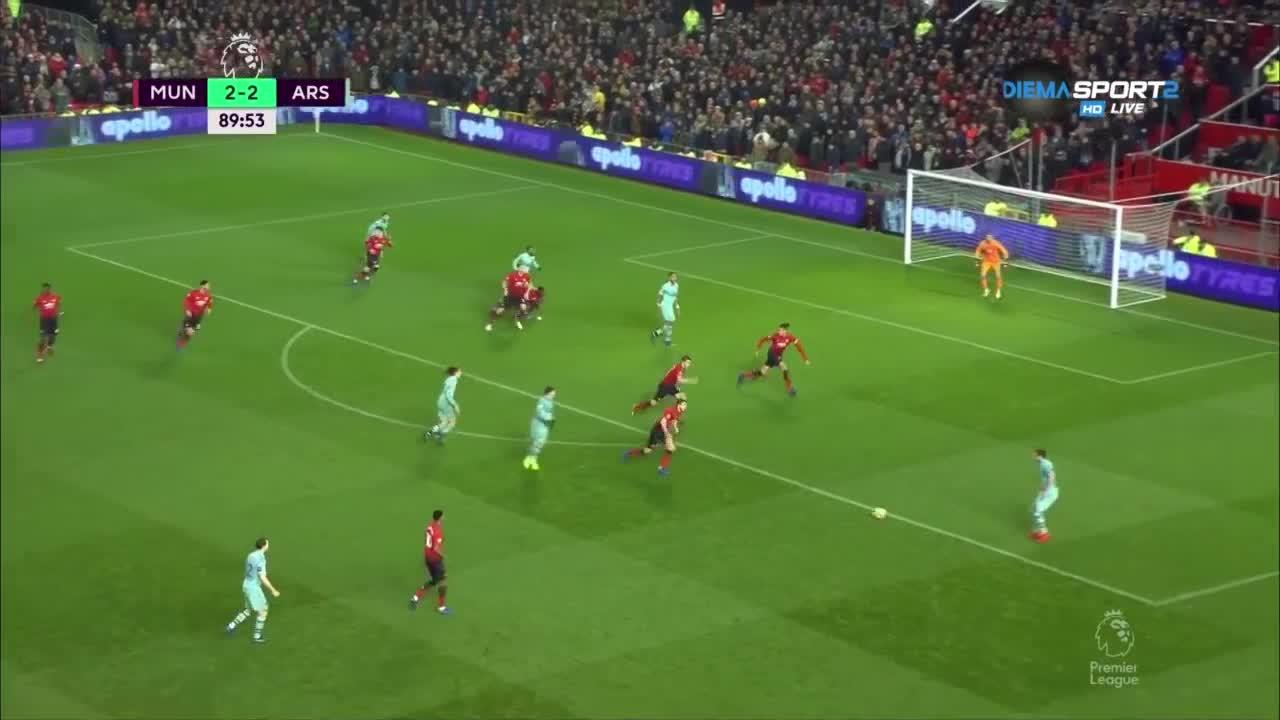 Манчестър Юнайтед - Арсенал 2:2 /репортаж/