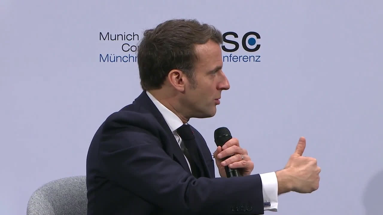 Germany: Macron speaks of 'weakening of the West' at Munich Security Conference