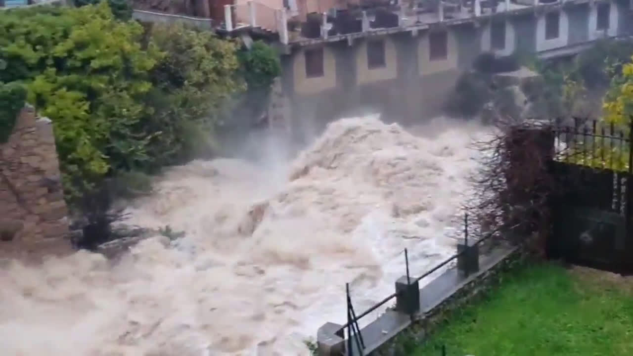 France: Two missing, hundreds of homes flooded as rains hit Cote d'Azur
