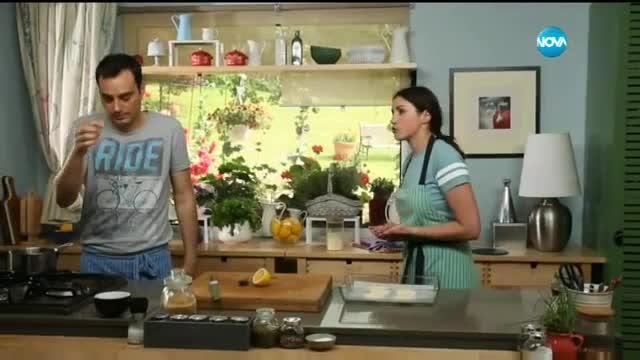 """Печено """"Бри""""с орехи и къпини - Бон Апети (04.07.2017)"""