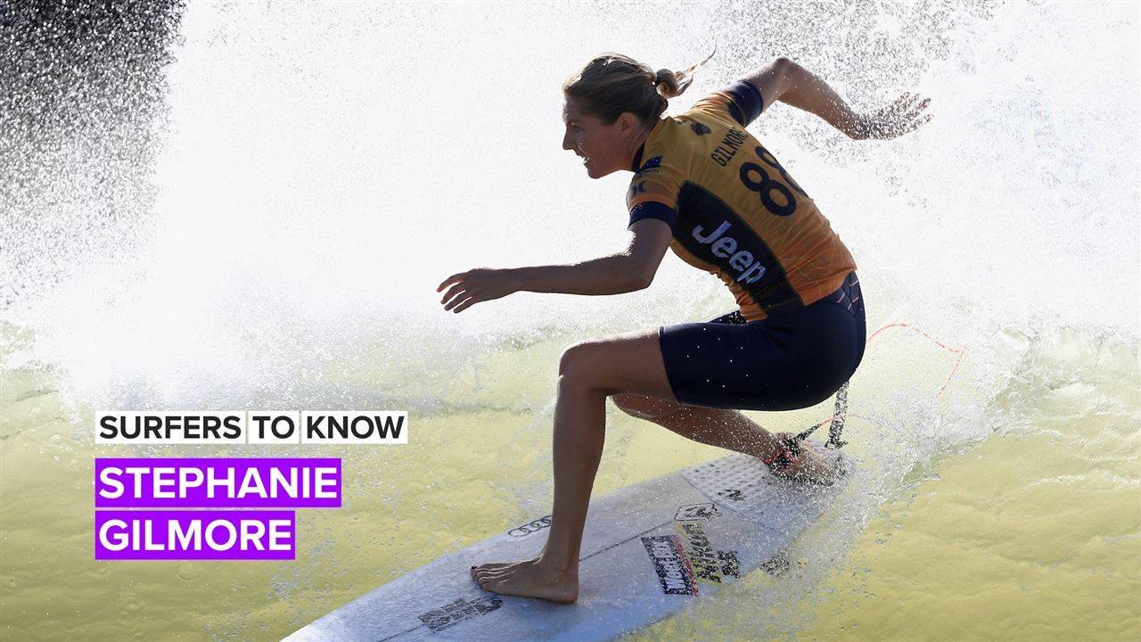 Here\'s the 4-1-1 on pro surfer Stephanie Gilmore
