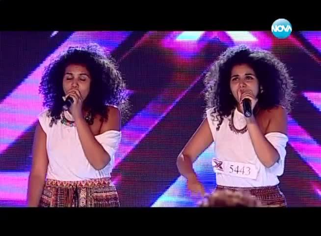 Близначките, Алекс и Влади впечатлиха журито в X Factor 2013 - Bulgaria