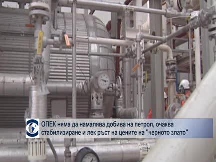 """ОПЕК няма да намалява добива на петрол, очаква стабилизиране на цените на """"черното злато"""""""