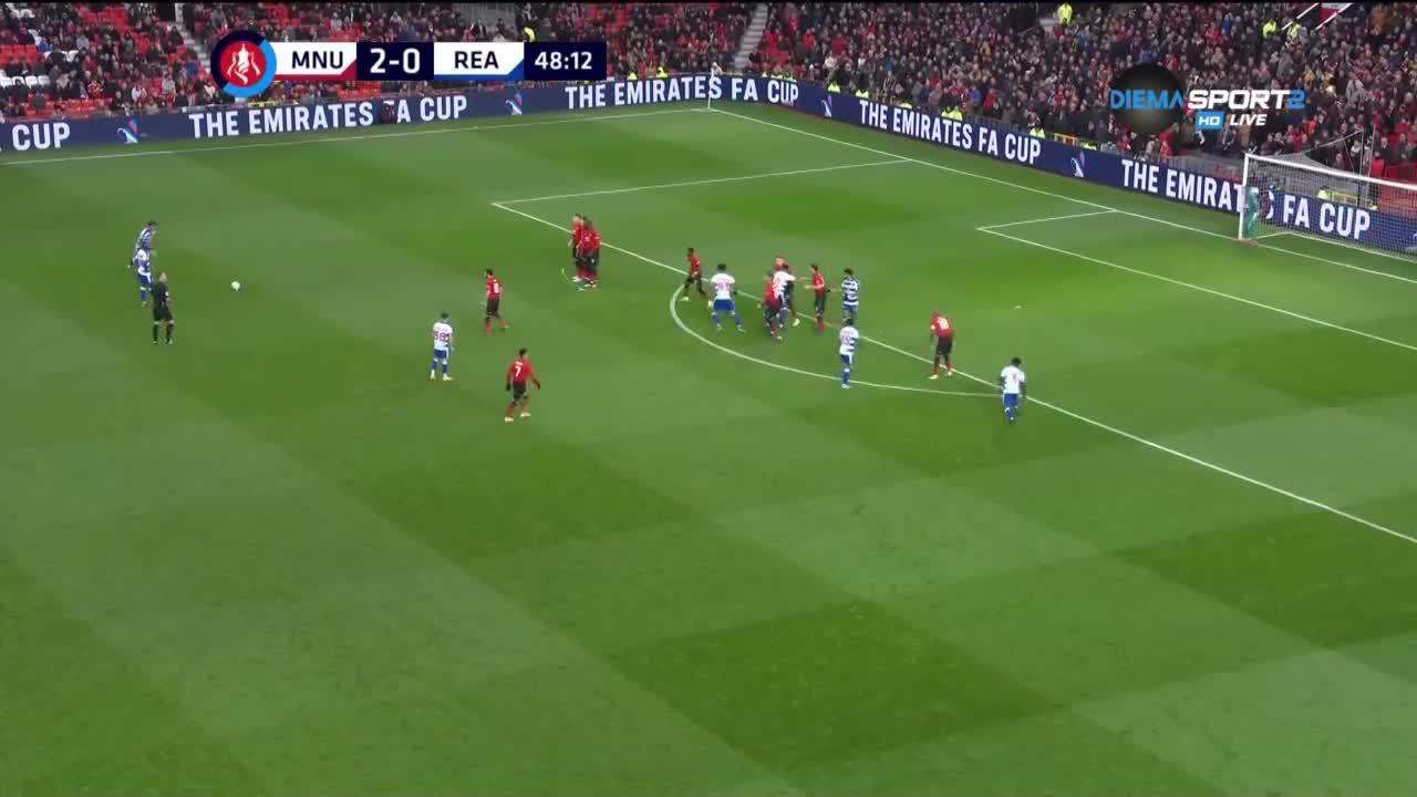 Манчестър Юнайтед - Рединг 2:0 /репортаж/