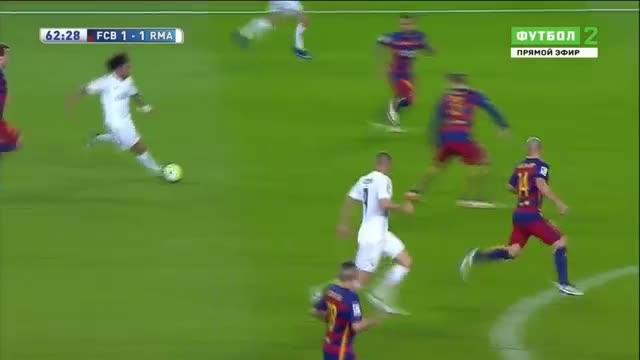 Барселона 1-2 Реал Мадрид 02.04.16